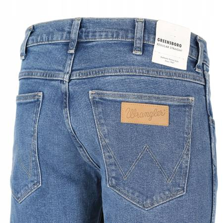 WRANGLER GREENSBORO REGULAR STR. BLUE STONES W15QKP34F