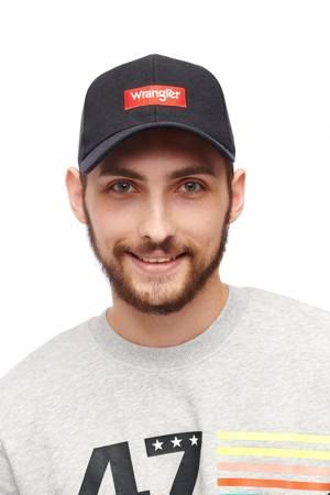 WRANGLER LOGO CAP BLACK W0U4U5100
