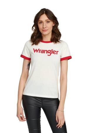 WRANGLER RINGER TEE OFF WHITE W7385G202