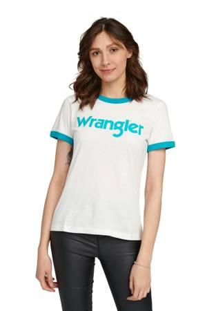 WRANGLER RINGER TEE OFF WHITE W7Z3EV737