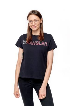 WRANGLER SS TEE BLACK W7Z1EV100